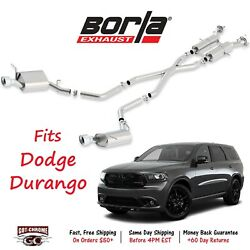 140449 Borla Cat-Back Exhaust System Kit for Dodge Durango 2011-2018