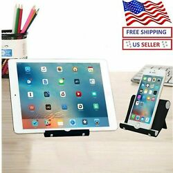 Portable Desk Desktop Phone Stand Holder For iPhone Cellphone Tablet Adjustable $5.97