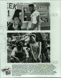 1992 Press Photo Two scenes from the PBS television series