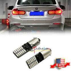 2PCS Error Free 3W 24-SMD Red LED Brake Stop Tail Light Bulbs For BMW 3 4 Series $12.99