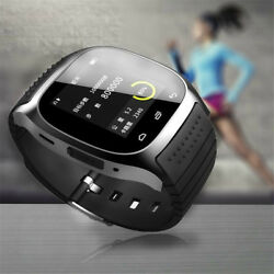 Bluetooth Sport Smart Watch Remote Camera Pedometer for Samsung Huawei Android $22.99