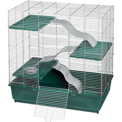 New Super Pet Green My First Home Multi-level For Exotics 30x18 In