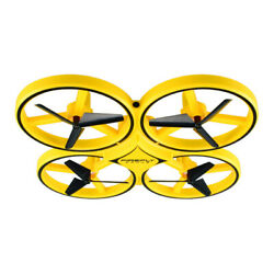 Remote Controlled Drone By Smart Watch Interactive Induction Quadcopter UAV Toy $42.98