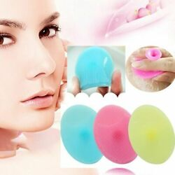 Silicone Face Brush 3 Pack Beauty Exfoliating Blackhead Facial Cleansing Tool US $7.98