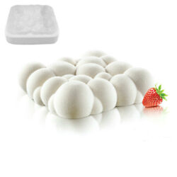 3D Cloud Mold Silicone Mould Baking Tools Chocolate Mousse Chiffon Pastry Moulds