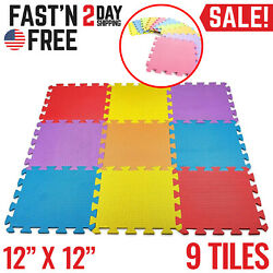 Baby Play Mat Infant Floor Gym Activity Crawling Kids Childrens Foam Exercise