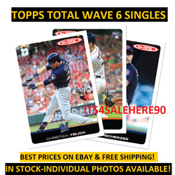 2019 Topps Total Wave 6 Singles - YOU PICK - DISCOUNTS FOR MULTIPLE ITEMS