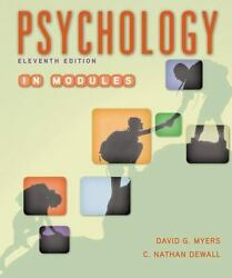 Psychology in Modules E-textbook (11th edition) by David G. Myers