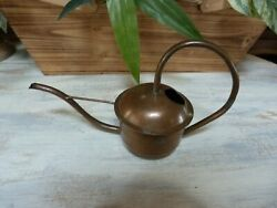 Vintage COPPER Charming Old WATERING CAN