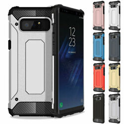 Luxury Carbon Fiber Case PC Rubber Protective Cover For Samsung Galaxy Note 8 9