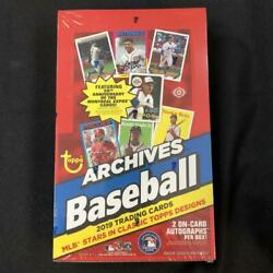 2019 Archives Baseball Hobby Box