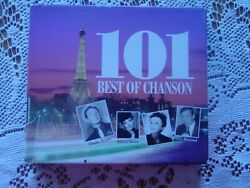 101 Best of Chanson (French) 4 cds Montand Piaf Chevalier Aznavour Greco