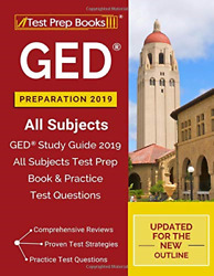 GED Study Guide 2019 All Subjects Test Prep Book & Practice Test Questions NEW
