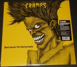 THE CRAMPS bad music for bad people USA LP 2018 new sealed 150 GRAM BLACK VINYL
