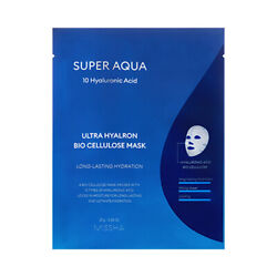 [MISSHA] Super Aqua Ultra Hyalron Bio Cellulose Mask - 2pcs