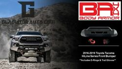 2016-2019 Toyota Tacoma HiLine Series Front Bumper
