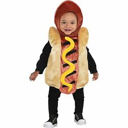 Mini Hot Dog Halloween Costume for Babies with Included Accessories