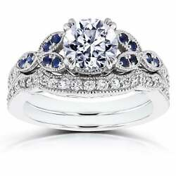 Annello by Kobelli 14k White Gold 1 14ct TDW Diamond and