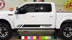 Ford F150 F-150 Vinyl Decal Sticker Graphics Sport Side Door x2 ANY COLOR