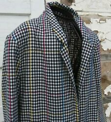 Vintage Retro Over amp; Under Women#x27;s L Blazer Shoulder Pads Great Condition $21.00