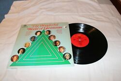 THE WONDERFUL WORLD OF CHRISTMAS-Various Artists LP STEREO