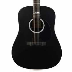 Martin DX Johnny Cash Acoustic-Electric Jett Black $599.00