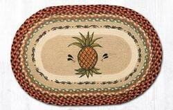 Earth Rugs OP-375 Pineapple Oval Patch 20
