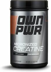 OWN PWR Micronized Creatine Monohydrate Powder 5G per Serving Unflavored