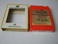 Alice Cooper School's Out 8-Track Red Cart wWarner Slip Cover