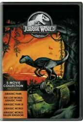 Jurassic World 5-Movie Collection (DVD 2018 5-Disc Set) BRAND NEW