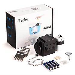 Touchless Toilet Flush Kit Adjustable Sensor Range Automatic Motion Batteries 8�