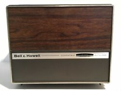 Vtg Bell & Howell 456A Autoload 8MM & Super 8 Portable Movie Projector