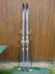 Cross Country Skis 77quot; Long KARHU 200 cm Skis And Has Poles $39.67