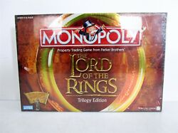 Lord of the Rings Trilogy Edition Monopoly by Parker Brothers 2003 SEALED NIB