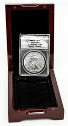 ANACS 2011-W American Silver Eagle Coin - First Strike SP70 - In Wooden Holder