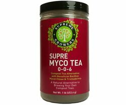 Supreme Growers Supre Myco Tea Natural Compost Mycorrhizae Concentrated 1 lbs $47.10