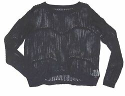 Vans Womens Lions Share Over Sized Loose Knit Casual Fashion Sweater Small $65 $21.75