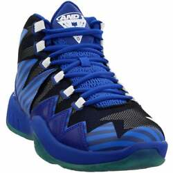 AND1 Boom  Casual Basketball  Shoes - Blue - Mens