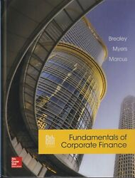 Fundamentals of Corporate Finance 8th Edition by Brealey Myers Marcus
