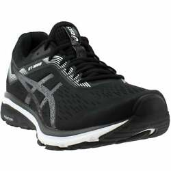 ASICS GT-1000 7  Casual Running Stability Shoes - Black - Mens