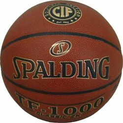 Spalding TF 1000 Classic ZK Indoor Basketball NFHS Size 7 CIF Southern Section $49.95