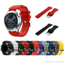 Samsung Gear S3 Frontier Strap - Black Blue Grey Yellow White Red  $5.66