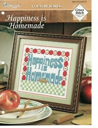 Cross Stitch Pattern Happiness Is Homemade Country Wares The Needlecraft S $0.99