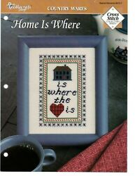 Cross Stitch Pattern Home Is Where Country Wares The Needlecraft Shop $0.99