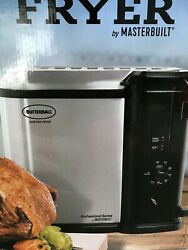 Butterball Electric Fryer by Masterbuilt in Stainless Steel and black  MB2301011