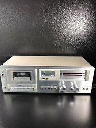 Early 80s Vintage Sharp RT-30 Cassette Deck For Parts or Repair