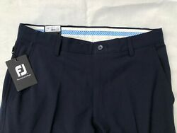 Mens Footjoy FJ Navy Blue Performance Athletic Golf Pants Size 32 X 34