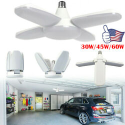 US LED Garage Lights Deformable Workshop Shop Work Home Ceiling Fixture Lamp E27