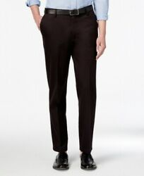 Dockers Mens Pants Deep Black Size 32x34 Khakis Athletic Fit Stretch $62 190