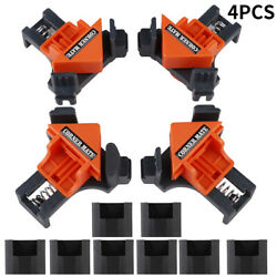 4PCSSet 90° Right Angle Clip Clamps Corner Holder Woodworking DIY Hand Tool-Kit